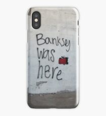 Banksey iPhone Case/Skin