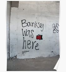 Banksey Poster