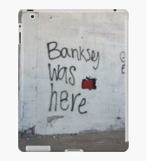Banksey iPad Case/Skin