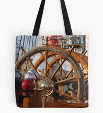 Ships Wheel Tote Bag