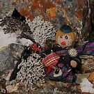 Bagpiper Scotty on the Rocks by cuilcreations
