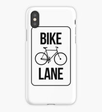 Bike Lane iPhone Case/Skin