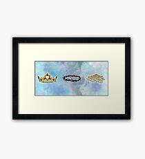 A Series of Crowns (Landscape) Framed Print