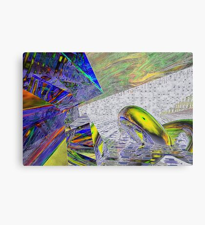 Installation Canvas Print