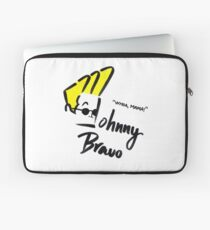 Johnny Bravo Laptop Sleeve