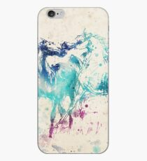Watercolor Horses iPhone Case