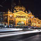 2017 Melbourne at Night Calendar by Ewan Arnolda