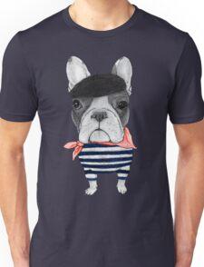 Frenchie With Arc de Triomphe Unisex T-Shirt