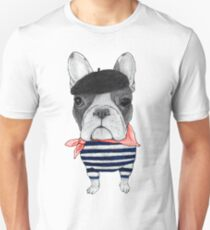 Frenchie With Arc de Triomphe T-Shirt