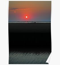 Sunset on the Gulf of Mexico Poster