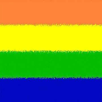 Rainbow Flag by brattigrl