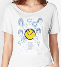 Leeds United FA Cup Women's Relaxed Fit T-Shirt
