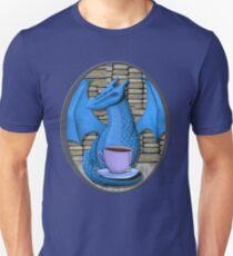 Blue Book Hoarding Dragon with Tea T-Shirt