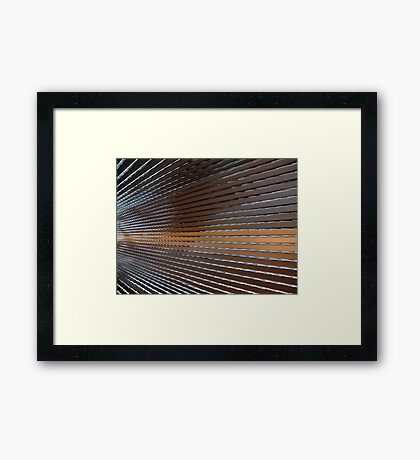 Where are you taking me?   Framed Print