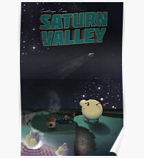 Greetings from Saturn Valley Poster