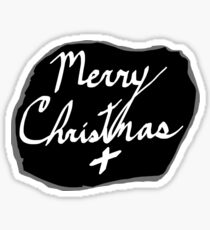 Merry Christmas Signature Sticker