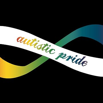 Autistic Pride Infinity Möbius by amythests