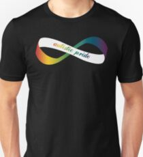 Autistic Pride Infinity Möbius T-Shirt