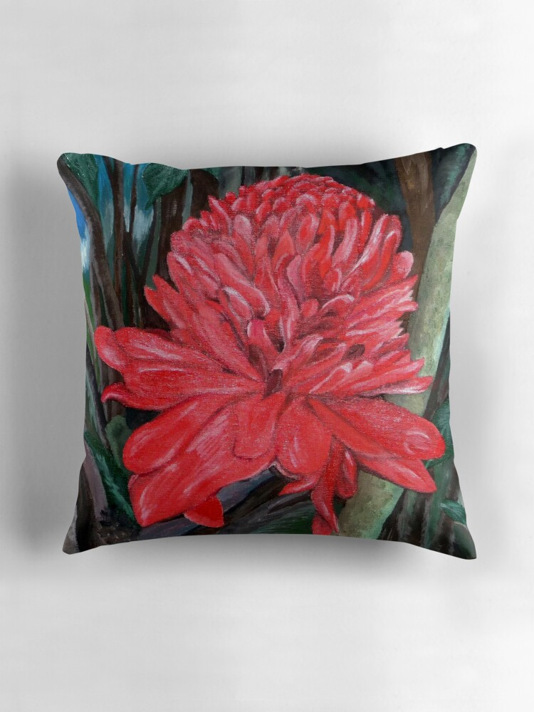 Big Red Decorative Pillows :