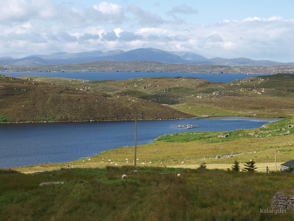 View from Carloway Broch by kalaryder