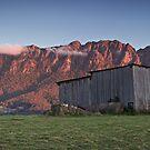 Sunset on Mt Roland  by Tim Wootton