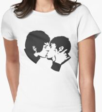 SebastiAn - Total (Stencil 2) Women's Fitted T-Shirt