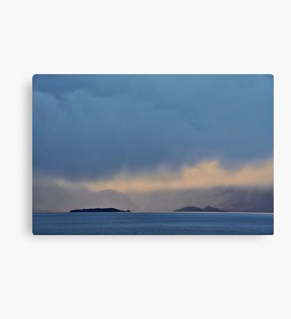 Islands and Cloud Canvas Print