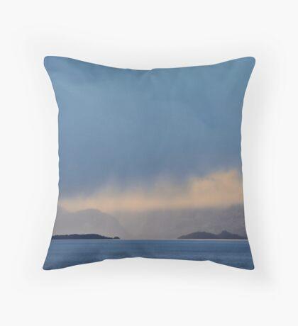 Islands and Cloud Throw Pillow