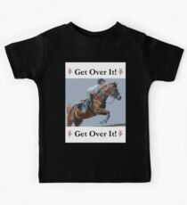 Get Over It! Horse T-Shirts & Hoodies Kids Tee