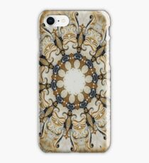Ornate Golden Yellow iPhone Case/Skin