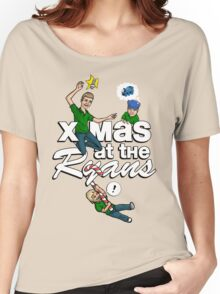 x-mas at the Ryans Women's Relaxed Fit T-Shirt