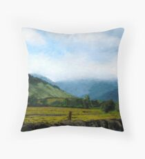 Lake District Throw Pillow