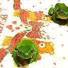 NO! A Froggy .... by D. D.AMO