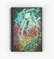 Fluid Colony Spiral Notebook