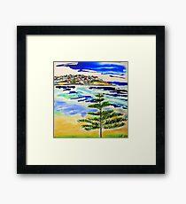 Bondi Bright Framed Print
