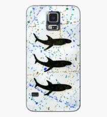 Three sharks - in line. Hülle & Skin für Samsung Galaxy