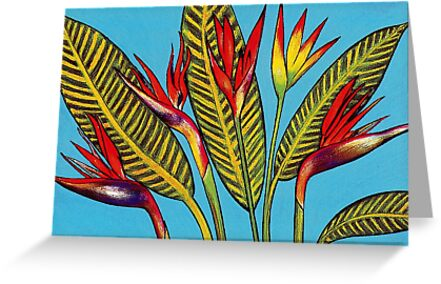 Birds of Paradise by YouBeaut Designs