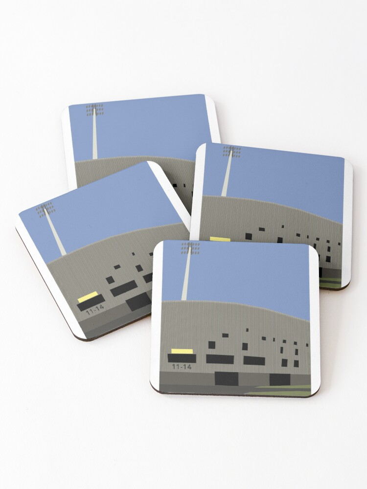 Cars Jeans Stadion Ado Den Haag Illustration Coasters Set Of 4 By 90minutes Redbubble
