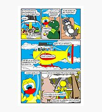 """Rick the chick  """"THE MAGIC SHELL parte 36"""" Photographic Print"""