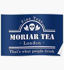 MoriarTea - White Poster