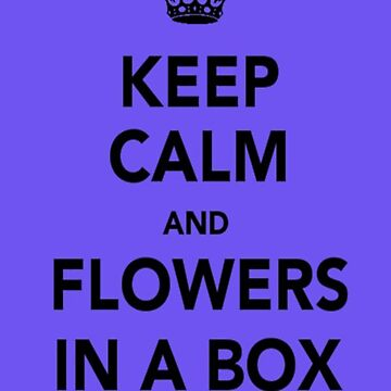 Flowers in a box. by jamfucker