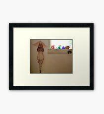 bella ruse Framed Print