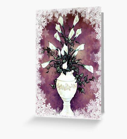 Winter White © Greeting Card