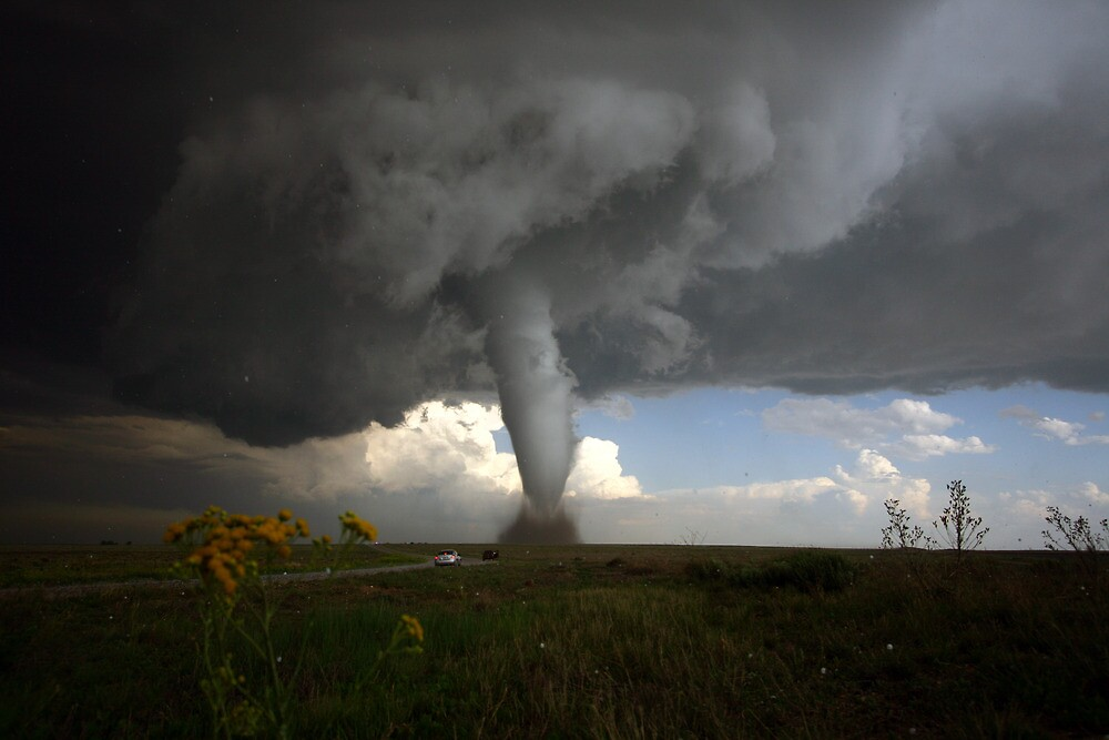 stunning and beautiful colorado tornado by ron gravelle