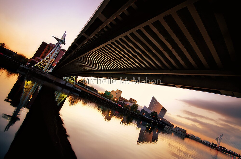 under the bridge.. by Michelle McMahon