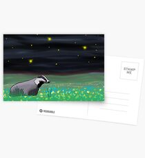 Badger Postcards