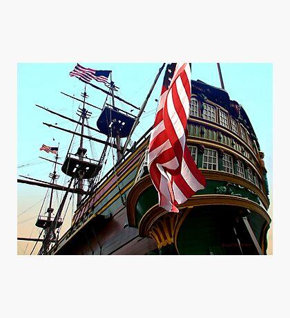 Three Masted Ship Photographic Print