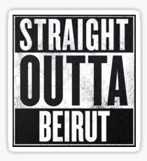 Beirut Sticker