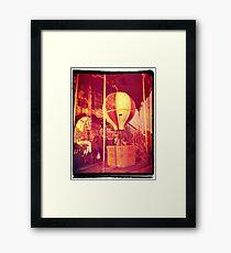 Ancient Carousel Framed Print