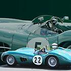 Aston Martin DBR1 by Willie Jackson